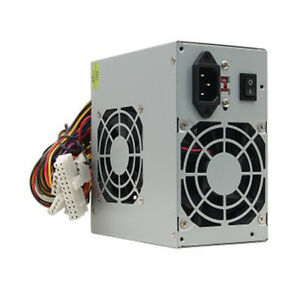 A-Power-Dual-Fan-AGS-450W-20-4-pin-ATX-Power-Supply-w-SATA-80mm-Low-Noise-FCC