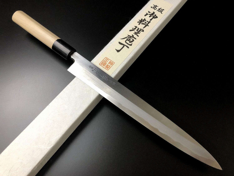 Japonaise couteau de cuisine aritsugu bleu Steel Yanagi sashimi 240 mm 9.44  AT007ds