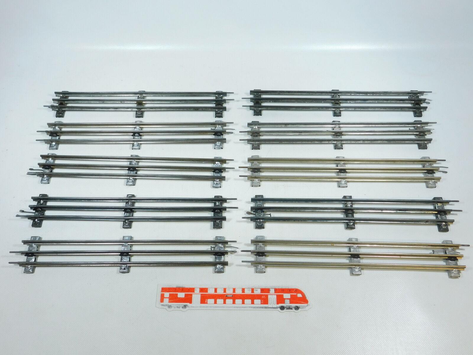 BW86-2 BW86-2 BW86-2 x Märklin Voie 0 Voie Droite (32 cm) pour Electrique Opération e346bb