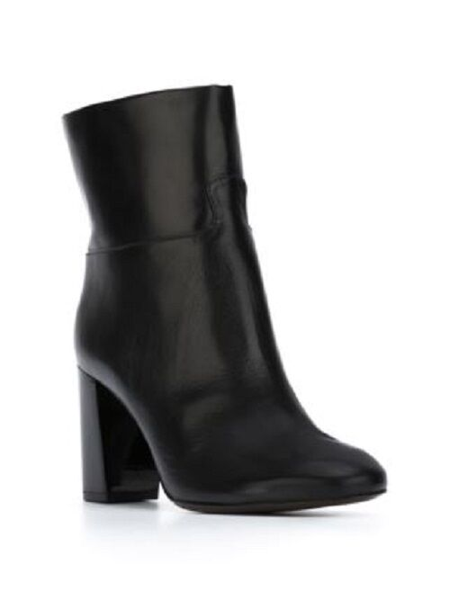 Tory Burch Devon Booties Black Leather Ankle Ankle Ankle Boots Women's 9 NIB  550 e602d2