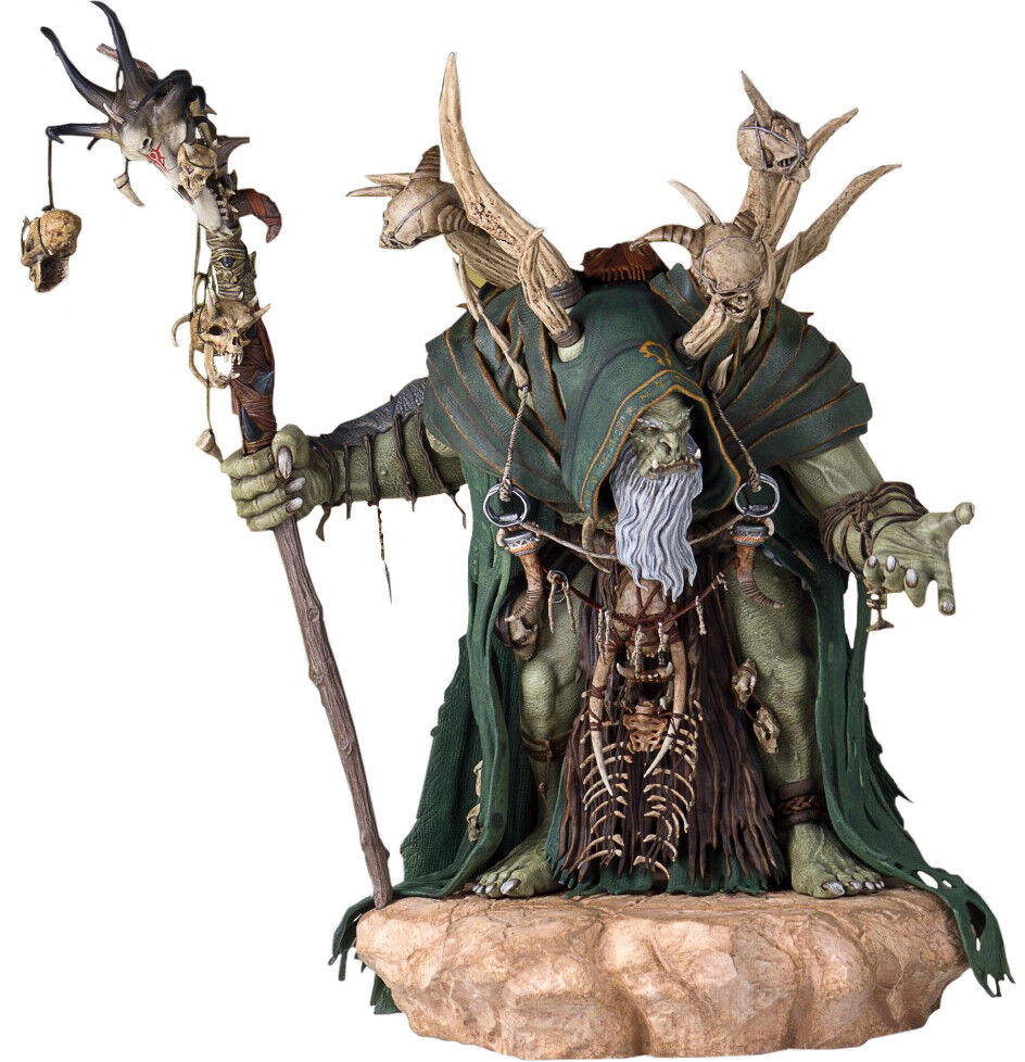 WORLD OF WARCRAFT - Gul'Dan 1 6 Scale Statue Statue Statue (Gentle Giant)  NEW b0d7fe