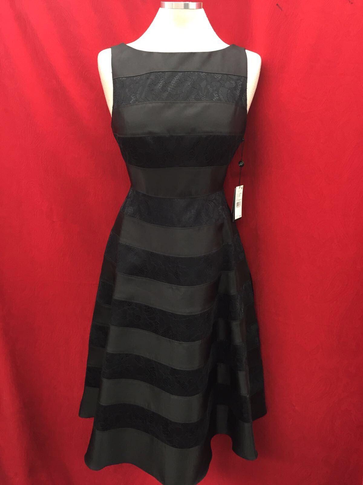 Adrianna Papell Kleid   Schwarz   Länge 11.9m   Größe 4P   Einzelhandel mit