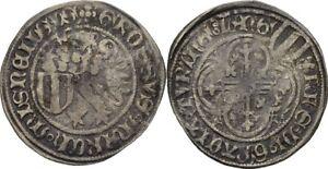 Schildgroschen-1431-1436-Saxony-Meissen-Freiberg-Friedrich-II-Silver-KAB202
