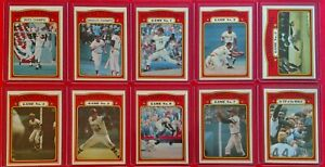 1972-Topps-World-Series-Complete-10-CARD-SUB-SET-221-230-NM-NM-Clemente