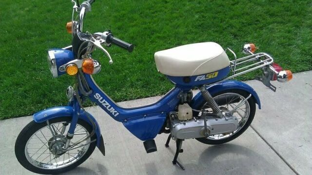 Suzuki Fa50 Moped Factory Repair Service Workshop Manual