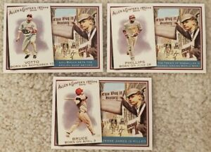 2010-Topps-Allen-amp-Ginter-Reds-Complete-Set-12-Cards-w-Jay-Bruce-Relic