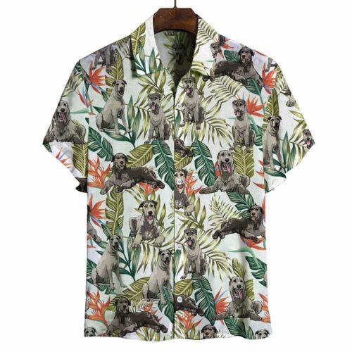 Irish Wolfhound V2 Hawaiian Shirt Button-Down