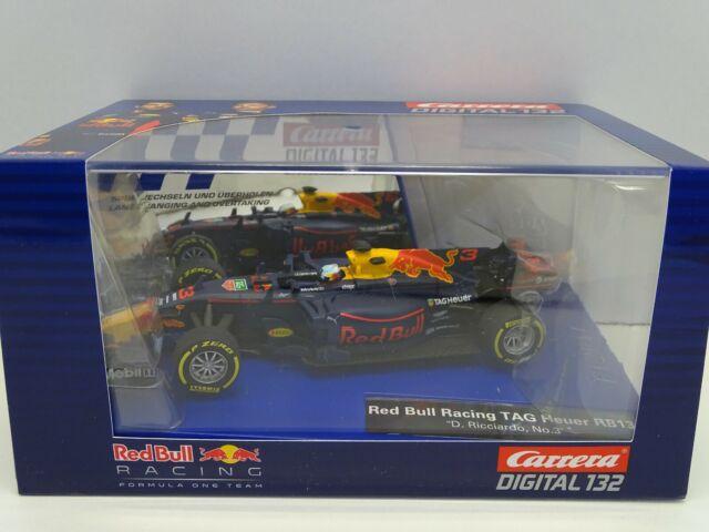 Carrera 30819 Digital 132 Slot Car Red Bull Racing RB13 Ricciardo No.3  M.1:32