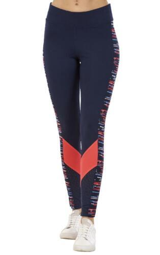 Womens Printed Sports Leggings High Waist Workout Gym Running Fitness Pants