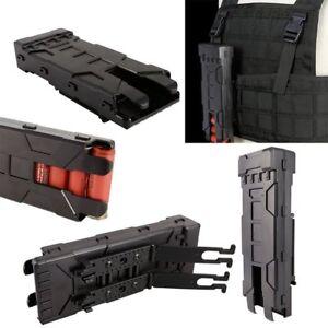 6 Rounds 12 Gauge Tactical Shotgun Shell Holder Card Strip Belt Magazine Pouch
