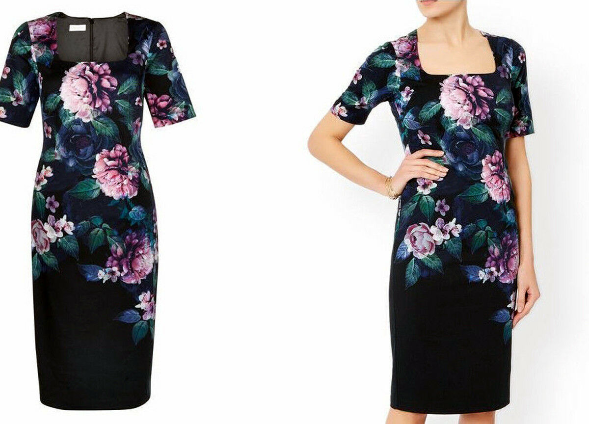 Brand New with Tags Monsoon Peony  Wiggle Pencil Dress  - Size 8 BNWT