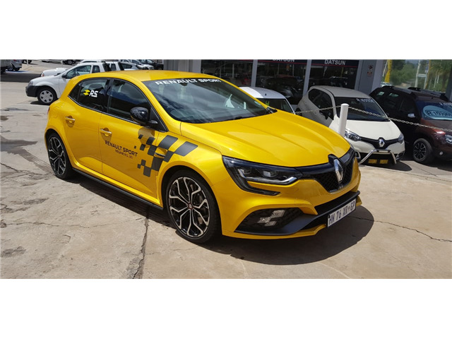 2018 Renault Megane RS 280 Lux EDC, Yellow with 2500km available now!