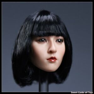 ZCTOYS 1/6 Scale Girl Short Hair Female Head Carving Fit