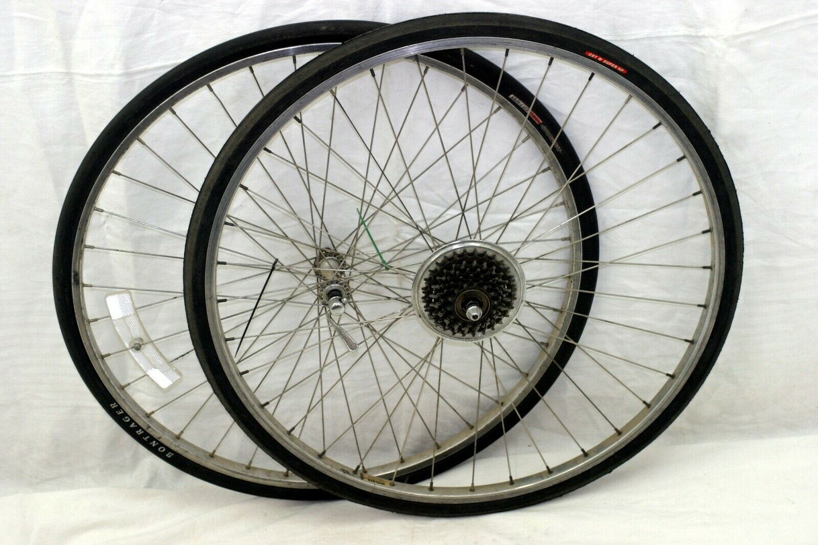 Wolber Super Champion Modele 58 27  Touring Wheels Maillard Hubs France Cahrity