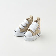 Neo Blythe Pullip Doll Canvas Sneakers Micro Shoes - Khaki