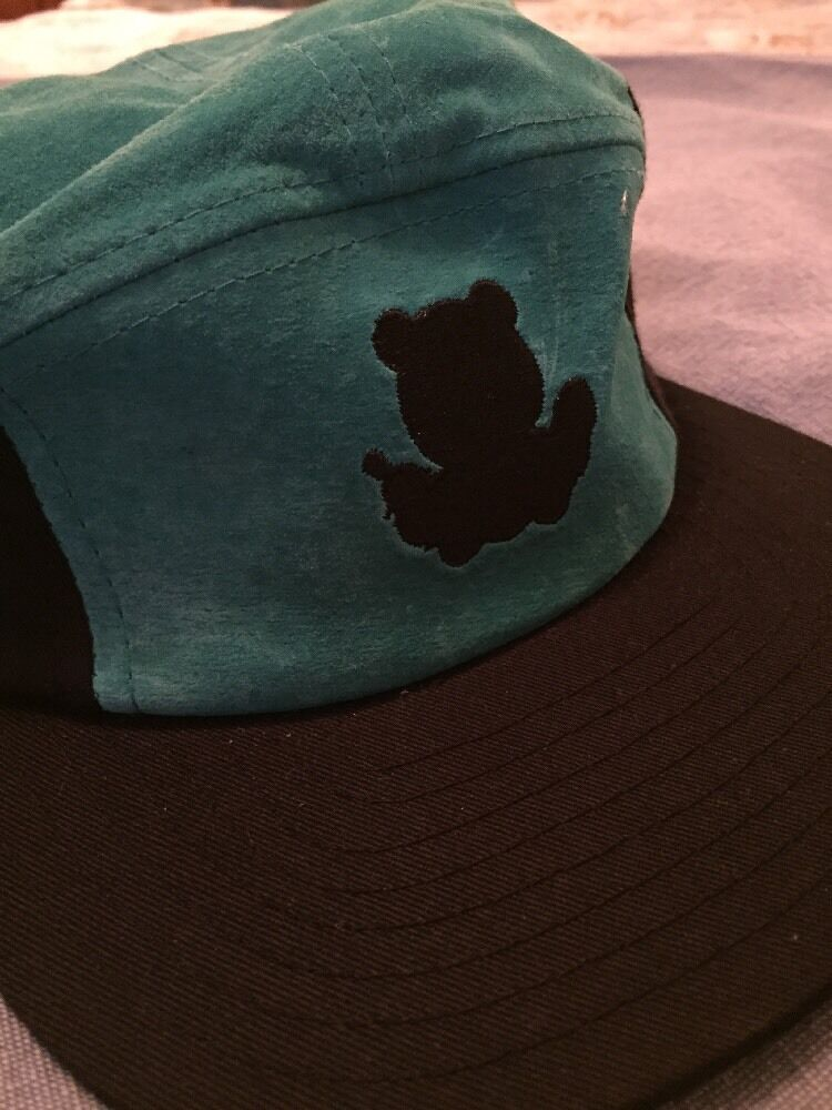 ENTREE LS 5 PANEL SUEDE NEW HAT IN TURQUOISE/ BLK NEW SUEDE 9d5509