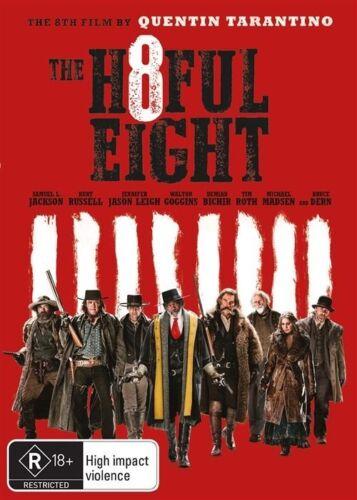 1 of 1 - The Hateful Eight (Dvd) Crime Drama Mystery Film Samuel L. Jackson, Kurt Russell