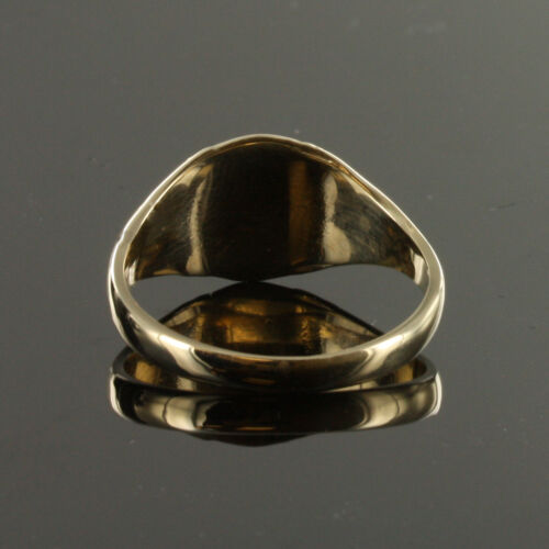 9ct Gold Square and Compass Masonic seal Ring