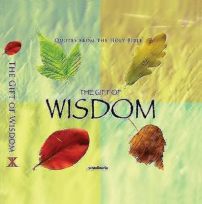 The Gift of Wisdom (CEV Bible Verses) by Ben Alex (Hardback, 2010)