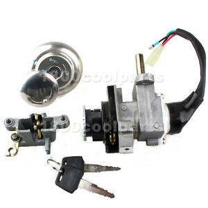 Details about Ignition Switch Key Set Kit for Scooter 50cc 150cc GY6 Moped  Chinese Parts