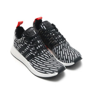 7eae1cb124b0 MEN S ADIDAS NMD R2 PK CORE BLACK WHITE RED BB2951 SZ 7-13 DS BNIB ...