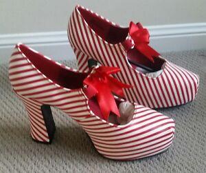 Funtasma-Women-039-s-High-Heel-Shoes-Size-9-CANDYCANE-48