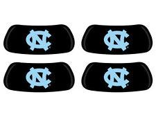 NCAA North Carolina Eye Black 2 Pair Peel-N-Stick Sticker Face Decal Eyeblack