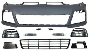VW-Golf-MK6-2009-2012-R20-Style-New-Front-Bumper-Any-Colour