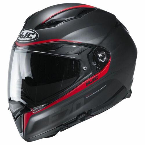 NEW HJC F70  Full Face Motorcycle Helmet DOT ECE Pick Size /& Color