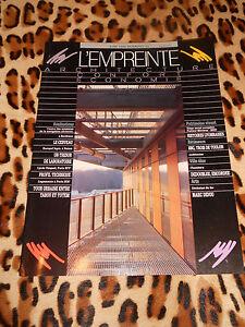 L'empreinte, Architecture-confort-économie N° 33, 1996 - Gdf, Cegibat - + Suppl. Vente En Ligne Du Dernier ModèLe En 2019 50%