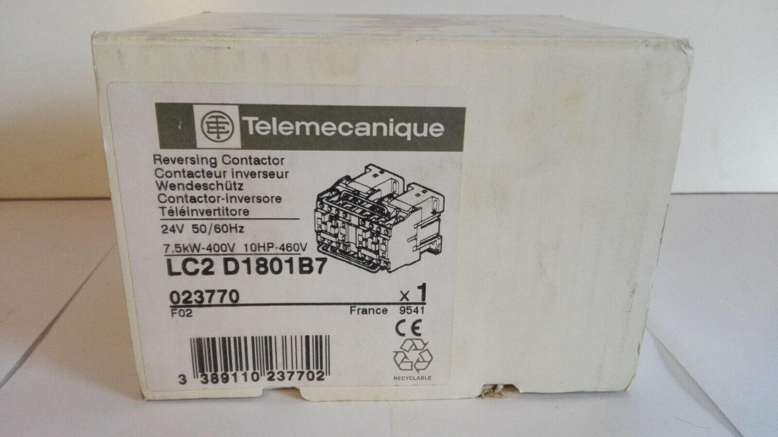 TELEMECANIQUE wendeschütz lc2 d1801p7