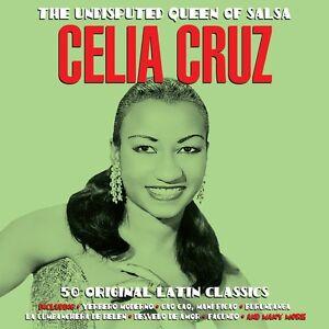 Celia Cruz UNDISPUTED QUEEN OF SALSA Best Of 50 Songs LATIN MUSIC