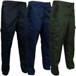 Mens-Work-Combat-Trousers-Mans-Cargo-Action-Pants-Sizes-30-50-034-Waist-29-034-amp-31-034-Leg