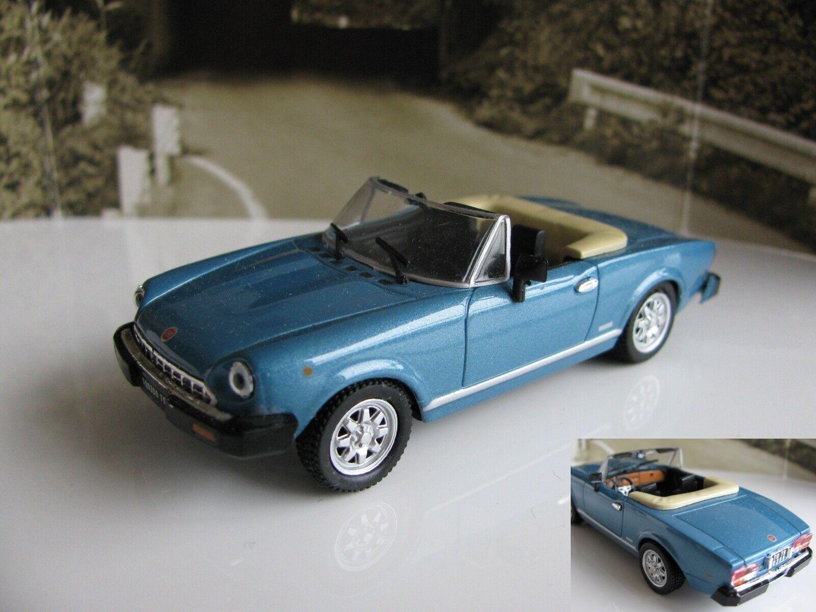1 43 43 43 Norev Fiat 124 Sport Spider diecast e2d6f6