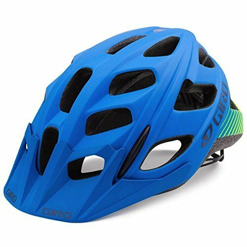 Giro Hex Cycling Helmet - Men's (Matte bluee Lime   (S) Small)