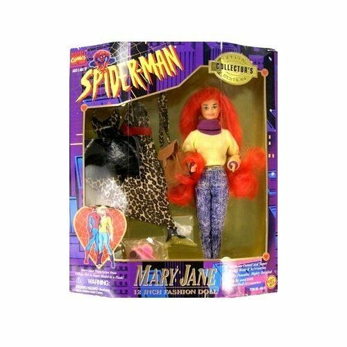 Mary Jane 12″ Fashion Doll Spider-Man Year of Make 1995