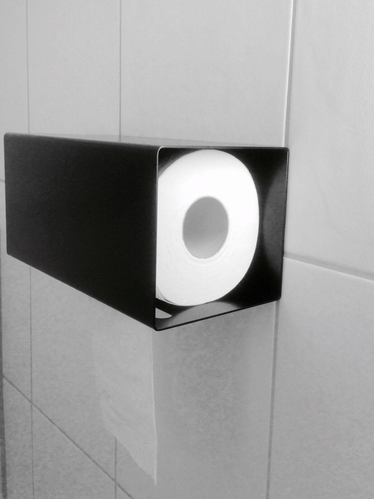 Klopapierhalter Klopapierhalter Klopapierhalter KlGoldllenhalter Designer Toilettenpapierhalter WC Bad schwarz c4a578