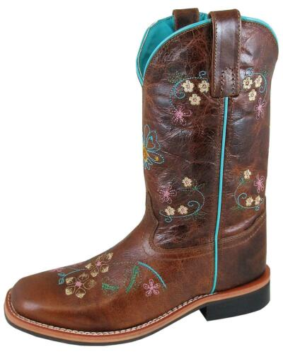 6841 Smoky Mountain Women/'s Floralie Western Boot Square Toe