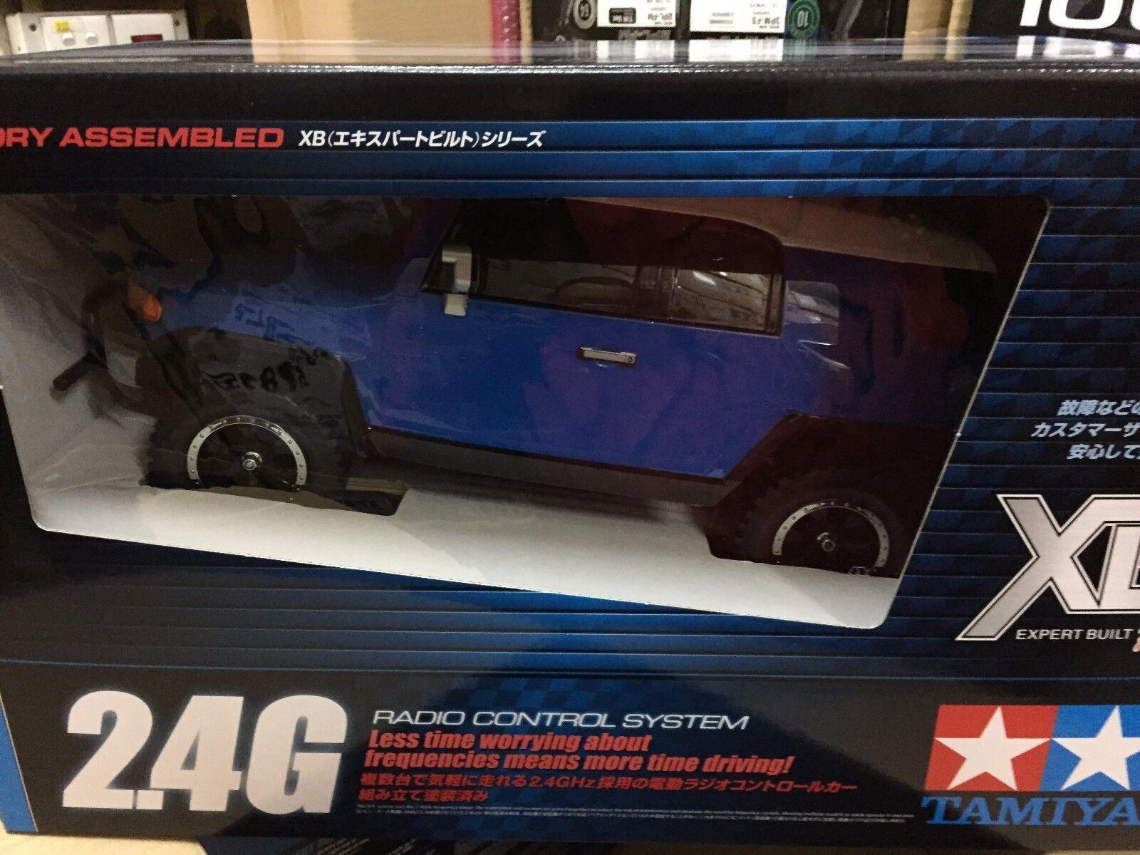 Tamiya 1  10 XB series 57877 giocattoloota FJ cruiser (CC-01 chassis) 2.4 GHz  articoli promozionali