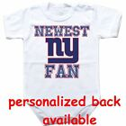 Baby bodysuit Newest fan New York Giants football One Piece jersey
