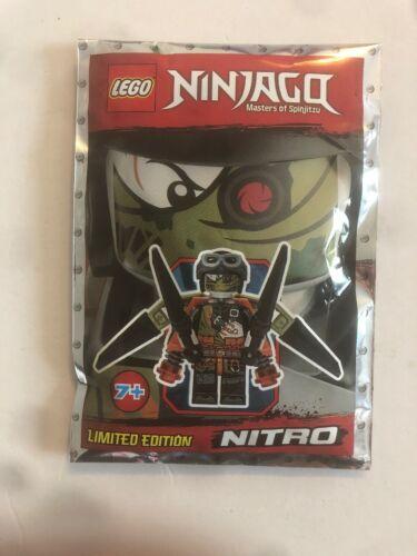 891844 New Limited Edition Lego Ninjago Minifigure Nitro foil pack