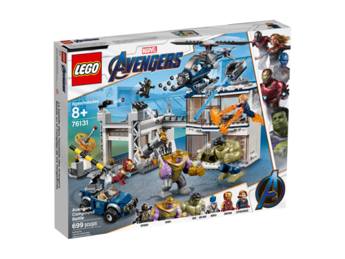 Lego  Marvel Avengers Compound Battle (76131)  i nuovi stili più caldi