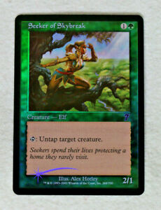 Seeker of Skybreak Foil MTG Magic the Gathering Mint//Unplayed 7th Edition