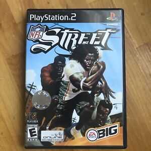 NFL Street (Sony PlayStation 2, 2004) NFL Football Sports Gaming Tested Works