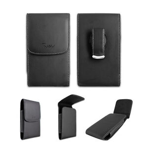 Black-Leatherette-Case-Pouch-Holster-with-Belt-Clip-for-ATT-Nokia-E62-E71x