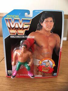 Vintage-1992-WWF-HASBRO-el-matador-serie-6-Figura-De-Accion-Nueva-Sellada-MOC