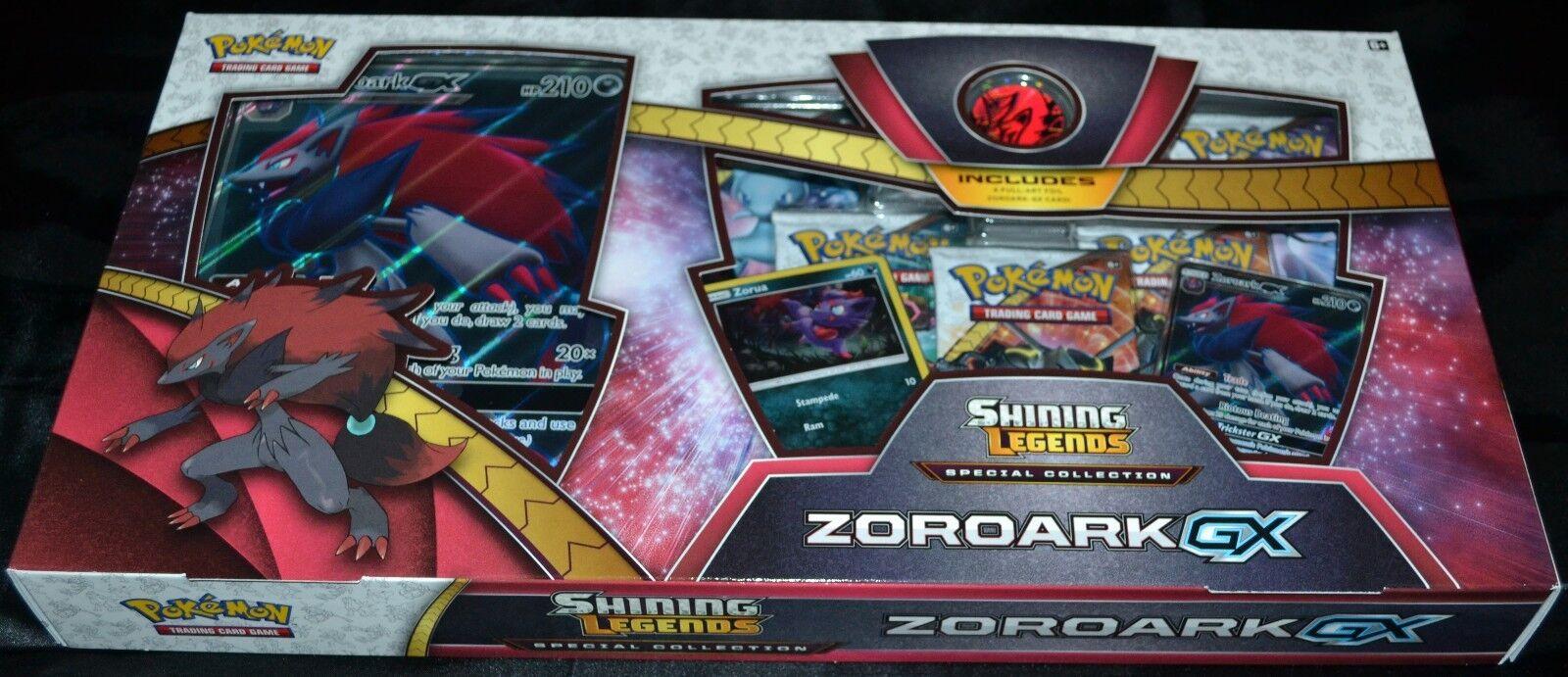 ZGoldark gx sammlung box scheint legenden pokemon tauschkarten spiel neue