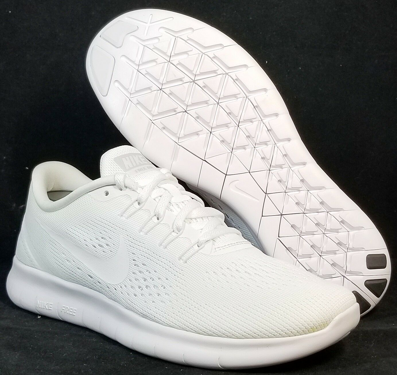 NIB NIKE Womens 8 FREE RN 831509 102 WHITE RUNNING FITNESS CASUAL SHOES Price reduction Cheap and beautiful fashion