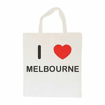 I Love Melbourne - Cotton Bag | Size choice Tote, Shopper or Sling