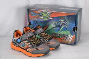 4104715ac224 Youth Boy s Skechers Cosmic Foam-Futurist Sneakers Charcoal Orange ...